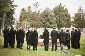 Чужие похороны во сне