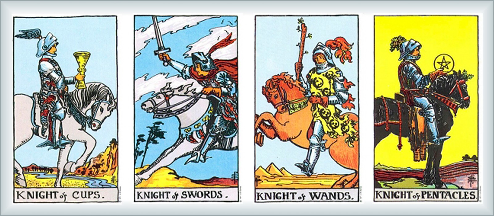 6 мечей Таро: значение карты в прямом и перевернутом положении