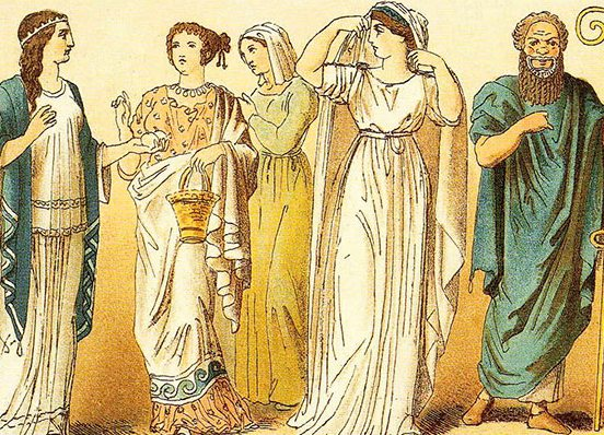 1c88e11a914 Древние и современные римские мужские и женские имена. Одежда Древнего Рима