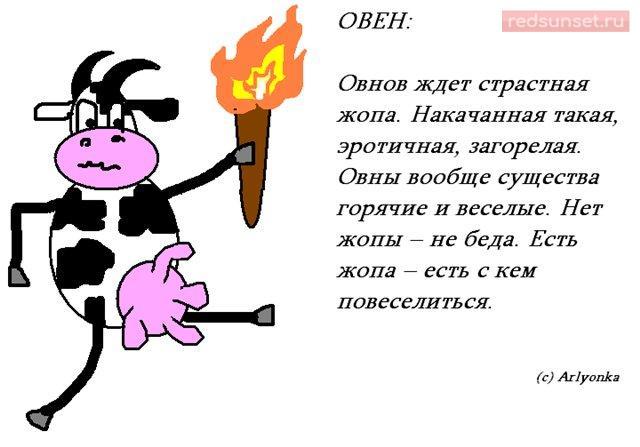 Смешные картинки со знаком зодиака овен
