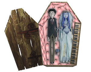 Жених и невеста в гробу