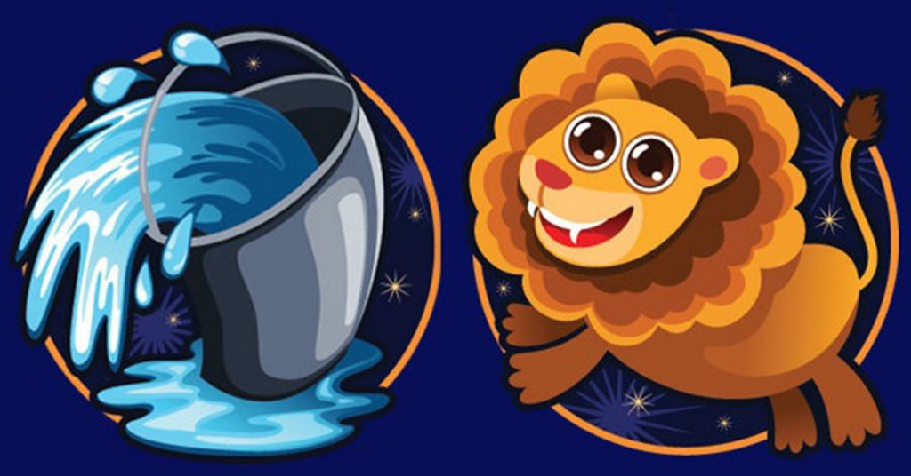 картинки водолея и льва городца самого узкого