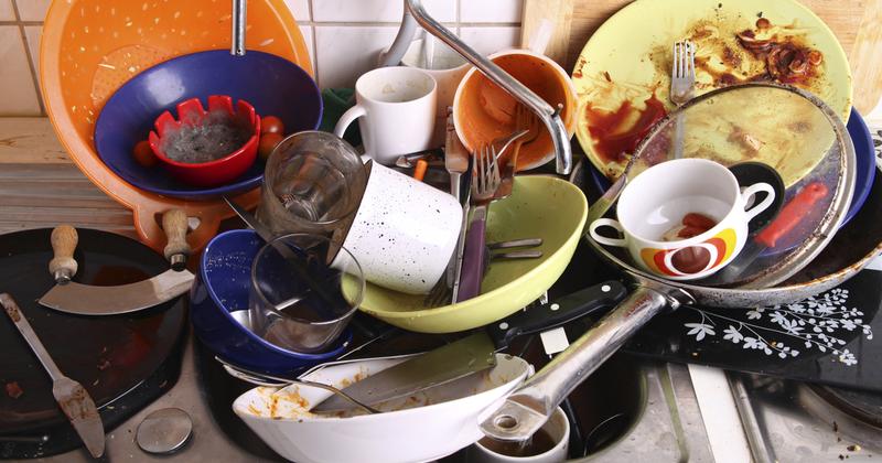 Сонник грязная посуда