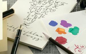 Сонник- краски и письмо.