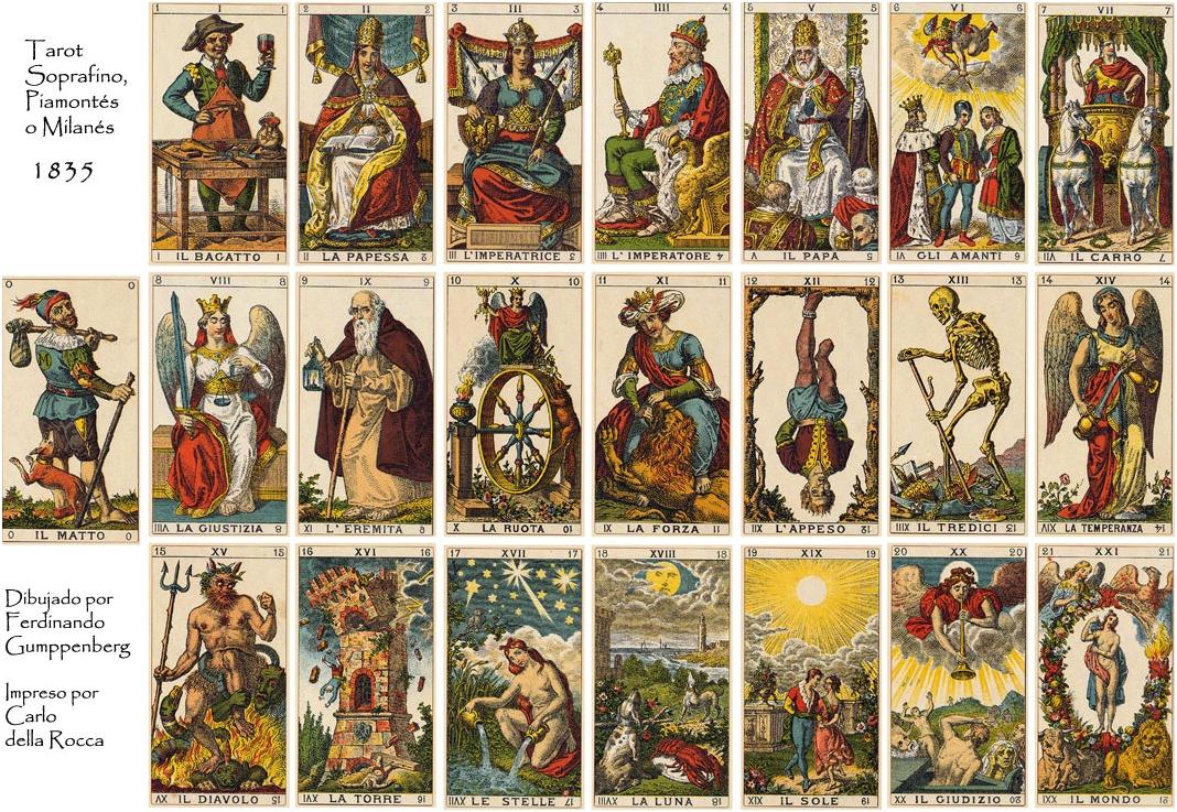 Значение карты Романтического таро – маг