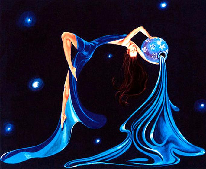 Картинки водолей женщина