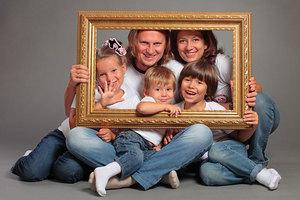 Фотосессия с семьей